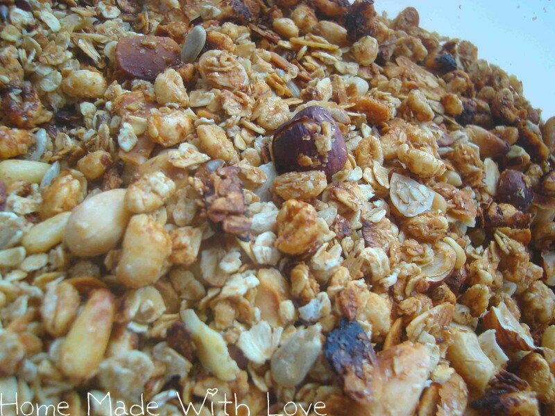 muesli ou granola maison 1 5pt part home made with love. Black Bedroom Furniture Sets. Home Design Ideas