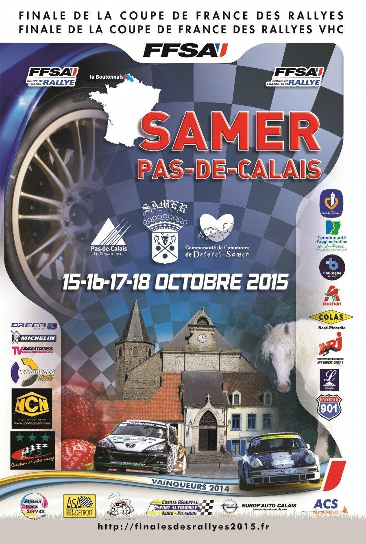Finale des Rallyes 2015 - Samer