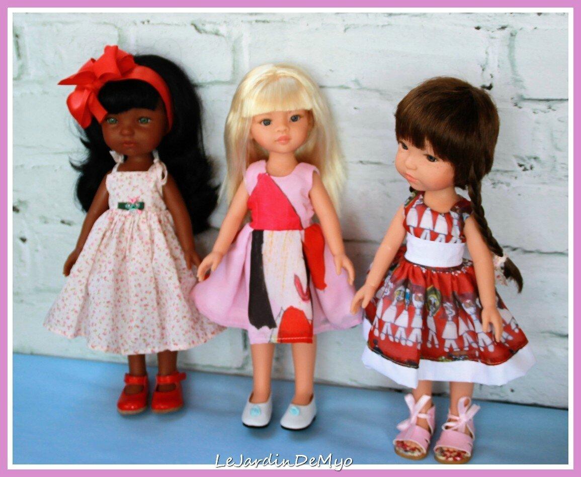 L'été des poupettes : Pepita, Nina et Lara