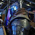 Un chevalier en armure