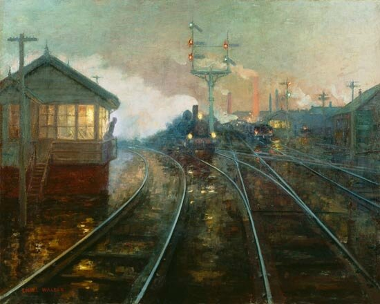 at night-lionel walden