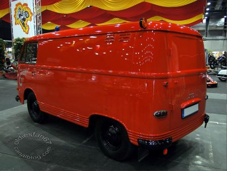 Ford transit 1250 tsf 1962 RegioMotoClassica 2011 2