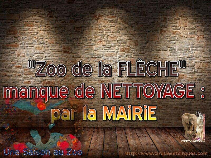 - MANQUE de NETTOYAGE par la MAiRiE