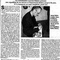 Article du progres 8 mai 2007, expo deloir