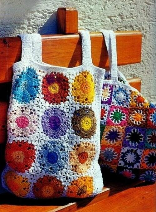 Crochet Bag for Beach