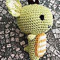 Petit dragon pour Quentin de profil 2