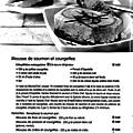 Recette tupperware: mousse de saumon et courgettes