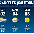 LOS ANGELES - METEO