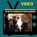 interview de françois asselineau par sciences po lille tv et critique de la raison européenne