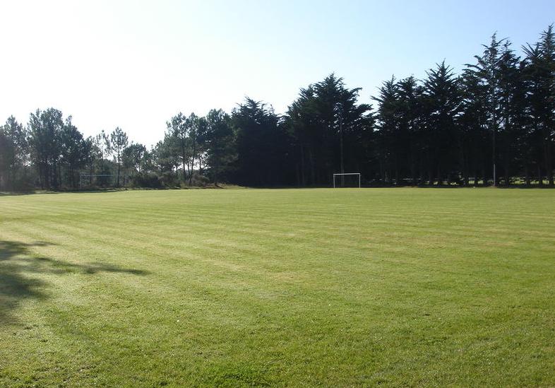 terrain d'entrainement