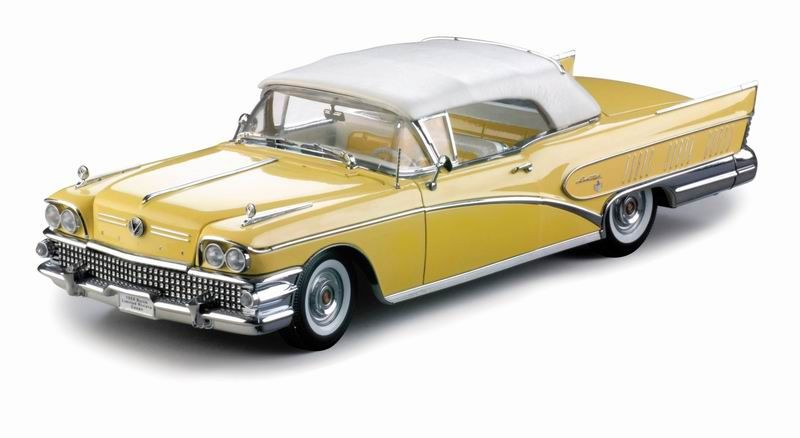 BUICK LIMITED OPEN CONVERTIBLE 1958