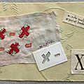 Abécédaire lettre x