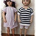 2 nouvelles tenues pour les poupées maru en friends