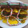 Gâteau coffre au trésor de pirate!