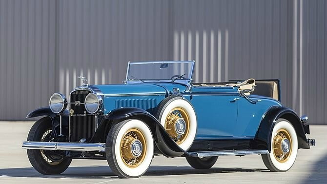 1931 Buick 96C Convertible Coupe