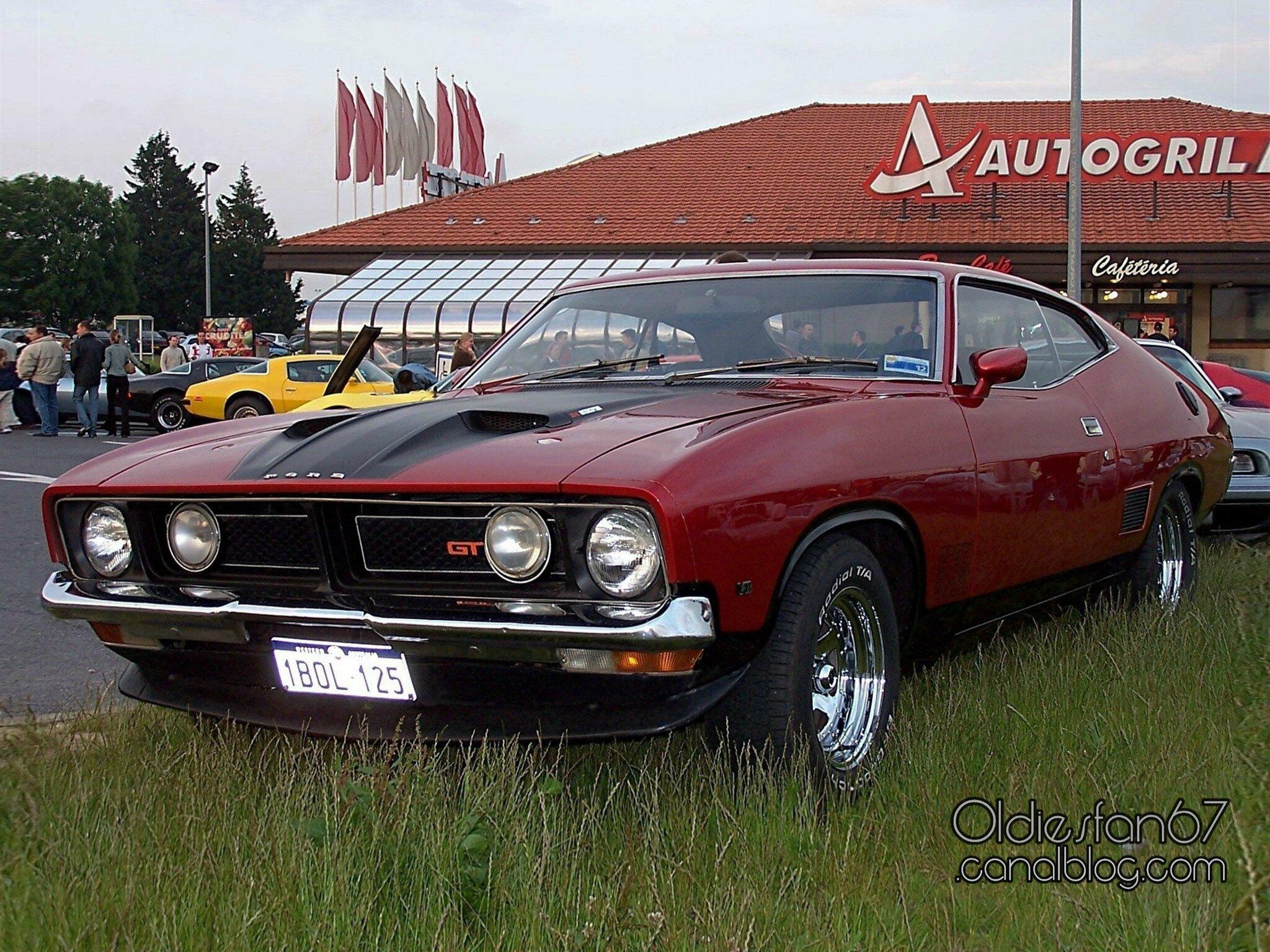 "Gran Torino Auto >> Ford Falcon XB GT351 Interceptor-1973 - Oldiesfan67 ""Mon blog auto"""