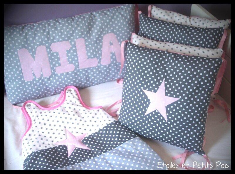 Tour de lit Mila