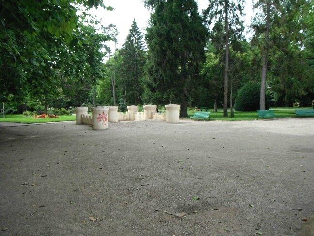 jardin anglais chateau