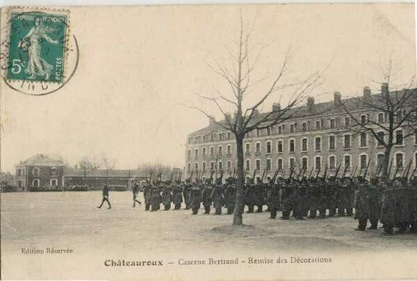 La caserne Bertrand (Intérieur)