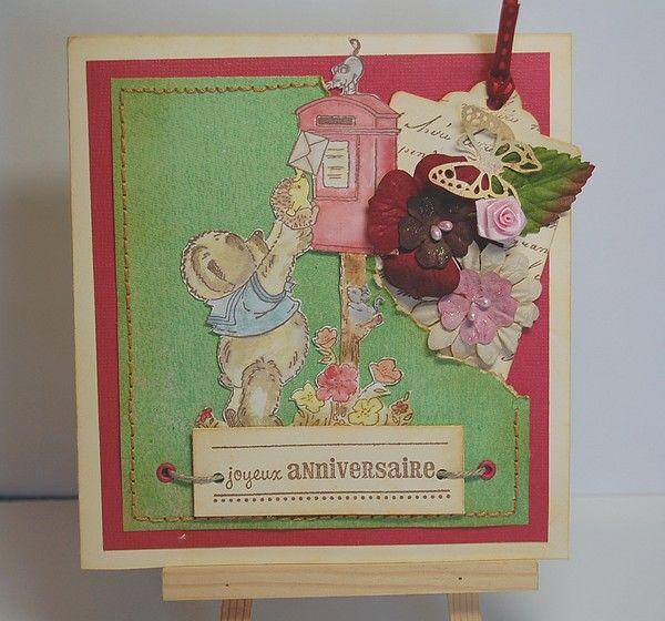 Carte anniversaire Beepbeep