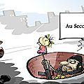 Pierre le corf, bloggeur français réputé, n'a pas mâché ses mots pour décrire la menace terroriste croissante à alep.