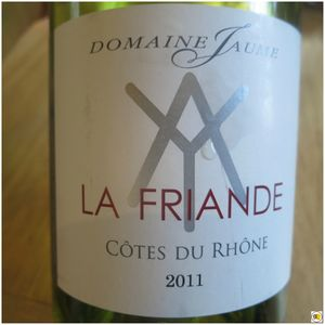 Côtes du Rhône La Friande 2011