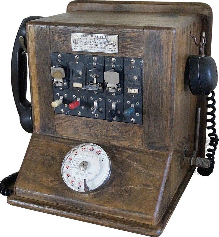 Central téléphonique -détouré