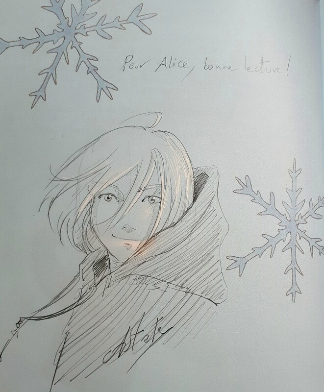 Japan Expo 2017 dédicace fanzine Yuri on Ice Bull'acides Yurio