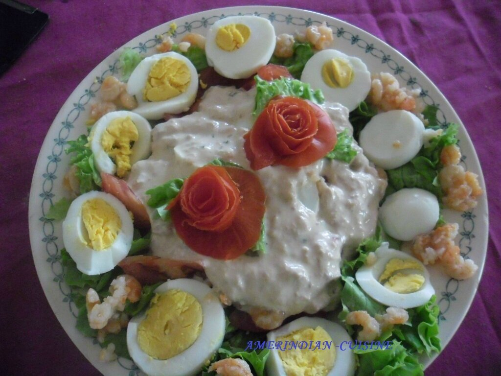 Decoration salade simple for Salade entree originale