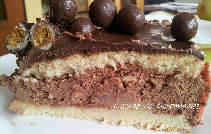 Gravity cake tranche