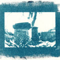 Fontaine de brumath - cyanotype