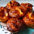Muffins au fromage blanc & aux pommes