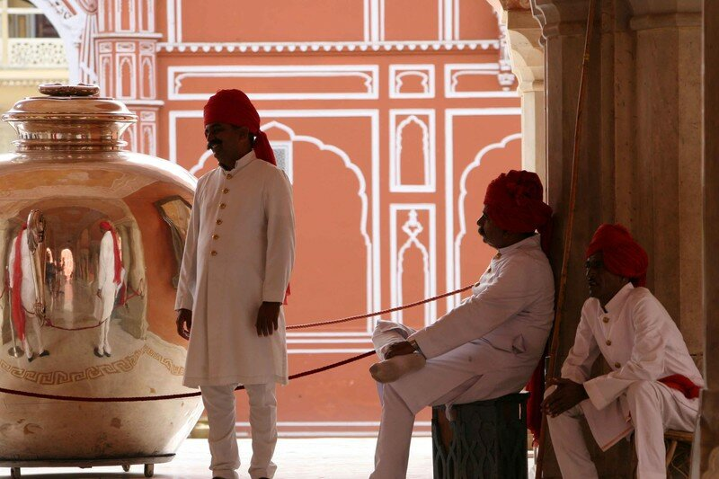 Guards at the City Palace
