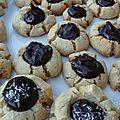 Petits nids douillets chocolat-coco {sans gluten, sans produit laitier et sans oeuf}