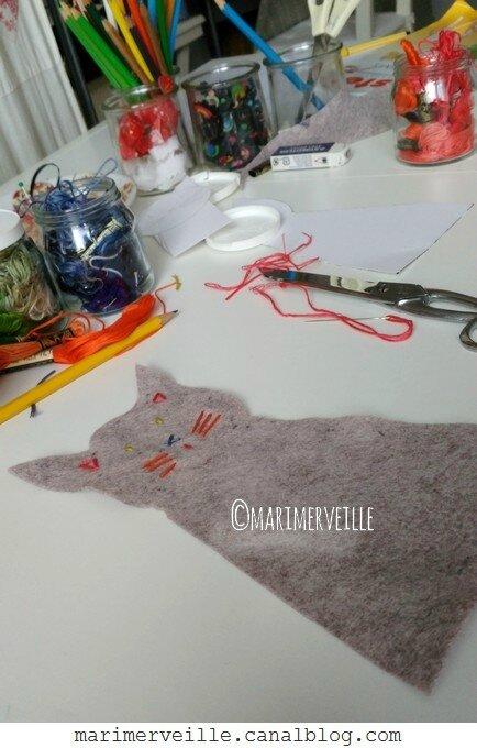 Atelier Marionnette chat - marimerveille
