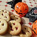 Cookies citrouilles d'halloween