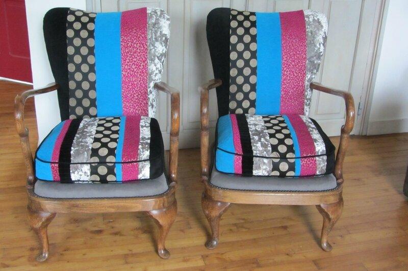 changer le tissu d'un fauteuil tapissier en Bretagne