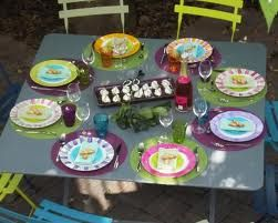 D co de table ext repas entre amis photo de c r monies for Repas light entre amis