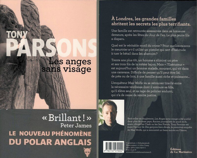 Les anges sans visage - Tony Parsons