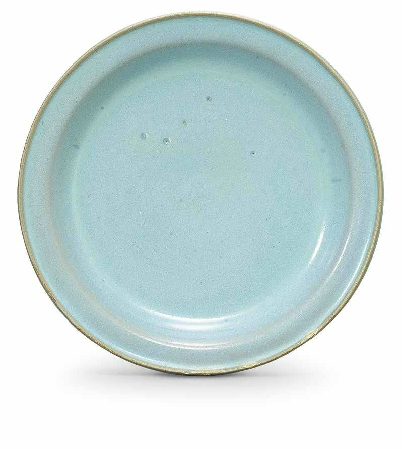 A small Jun blue-glazed dish, Northern Song dynasty (960-1127)