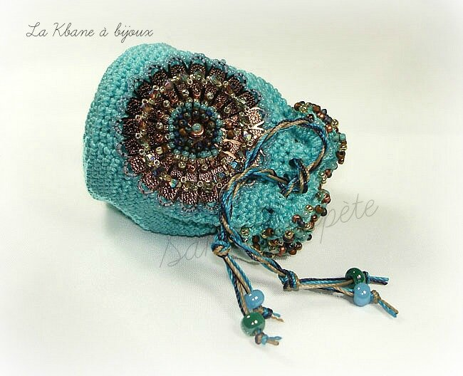 pochon turquoise 4