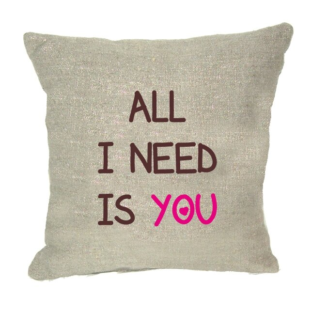 coussin all I need is you
