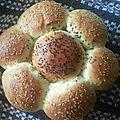 Khobz ddar, pain moelleux (2ème recette)