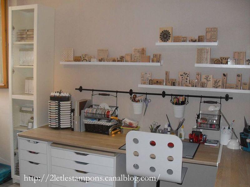 mon r ve enfin r alis 2l 39 et les tampons. Black Bedroom Furniture Sets. Home Design Ideas