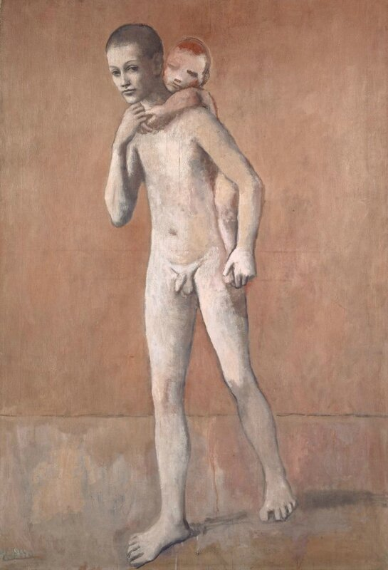 Picasso, The Two Brothers (Les deux frères)