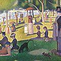 Un dimanche après-midi sur l'ile de la grande Jatte-1885_Seurat