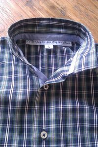 chemise ecossaise col
