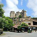 Saint-Front-sur-Lémance, château de Bonaguil, village(47)