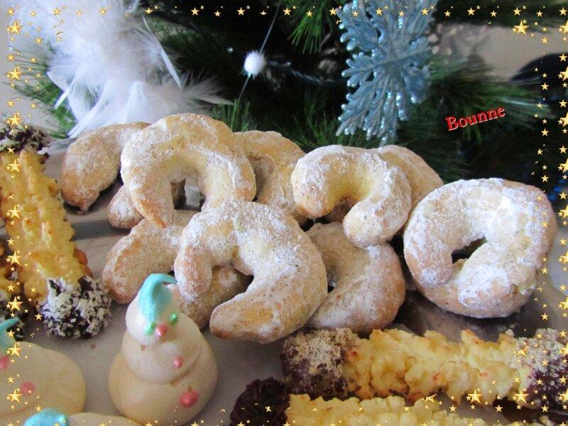 Vanillekipferl(Petits croissants vanille)