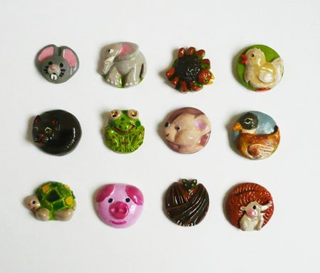 pastilles animaux moule silicone2